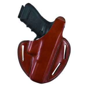 Shadow II Pancake-Style Holster Gun FIt: 21 / Browning / Hi-Power 21 / Colt / Delta Elite, Gold Cup, Government 21 / Llama / Ixa 21 / Para Ordnance / P14, P16 21 / S&W / 1911 21 / Springfield / 1911-A1 Hand: Right Hand Color: Plain Black - 18664