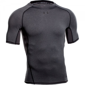 Under Armour HeatGear Men's Undershirt in Carbon Heather - Large