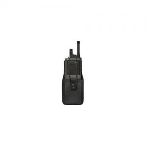 UNIVERSAL RADIO HOLDER BLK NO/  8014 Universal Radio Holder Holds most han-held radios Adjustable elastic security strap with snap closure fits up to 2.25  belt widths Fits Motorola MT500,MT1000,Saber and similar models Black
