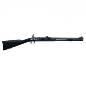 "Traditions 50 Cal/24"" Blued Barrel & Black Synthetic Stock R35108150"