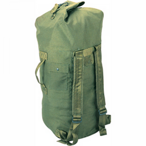 5ive Star Gear GI Spec Double Strap Duffel Backpack in OD Green 1000D Nylon - 6329000