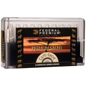 Federal Cartridge Cape-Shok Dangerous Game .370 Sako Magnum Swift A-Frame, 286 Grain (20 Rounds) - P370SA