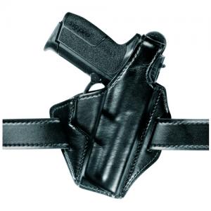 "Safariland 747-Federal Right-Hand Belt Holster for Glock 17, 22 in Black Textured Safari Laminate (4.5"") - 747-83-61"