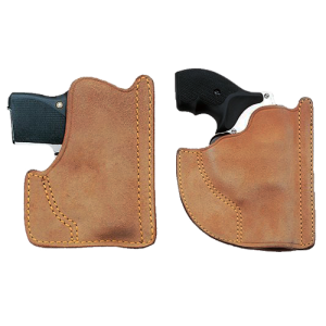 "Galco International Front Pocket Ambidextrous-Hand Pocket  Holster for J-Frame in Natural (2.125"") - PH158"