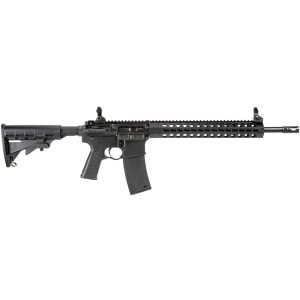 """Troy Industries Special Purpose .223 Remington/5.56 NATO 30-Round 16"""" Semi-Automatic Rifle in Black - SCARSP316BT"""
