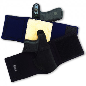 """Galco International Ankle Lite Left-Hand Ankle Holster for Charter Arms Undercover in Black (2"""") - AL161B"""