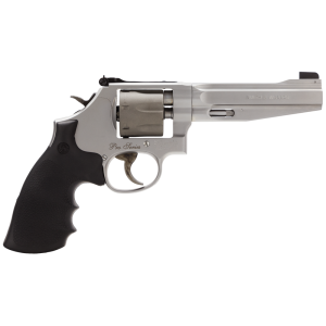 """Smith & Wesson 986 9mm 7-Shot 5"""" Revolver in Two Tone - Stainless/Titanium (Performance Center) - 178055"""