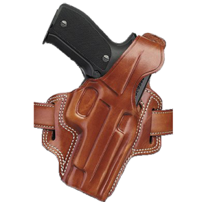 "Galco International Fletch Right-Hand Belt Holster for L-Frame in Tan (4"") - FL104"