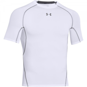 Under Armour HeatGear Men's Undershirt in White - Large