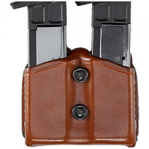 Aker Leather Dual Magazine Pouch Magazine Pouch in Tan - A616-TP-4