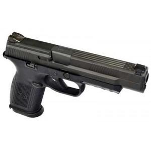 "FN Herstal FNS-9 Long Slide 9mm 17+1 5"" Pistol in Black (No Manual Safety) - 66725-CUST-002"