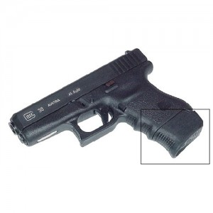 Pearce Black Grip Extension For Glock 36 PG360