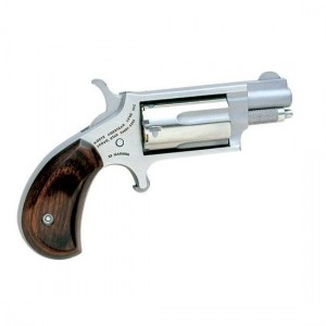 "North American Arms Mini-Revolver .22 Long Rifle 5-Shot 1.12"" Revolver in Matte Stainless - 22MSC"