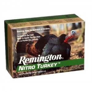 "Remington Nitro Turkey .12 Gauge (3"") 4 Shot Lead (10-Rounds) - NT12H5"