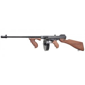 """Auto Ordinance 1927A1 Deluxe .45 ACP 100-Round 16.5"""" Semi-Automatic Rifle in Blued - T150D-T30"""