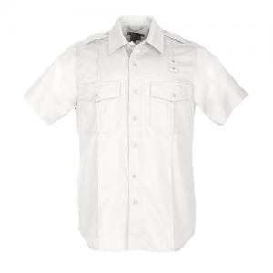 5.11 Tactical PDU Class A Men's Uniform Shirt in White - 2X-Large