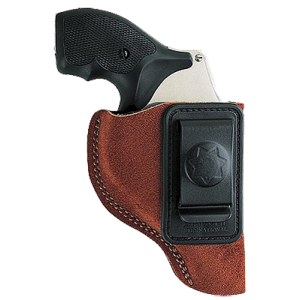 """Bianchi 10382 6 Waistband 3"""" Barrel Charter Arms; Colt; Ruger; S&W; Taurus Leather Tan - 10382"""