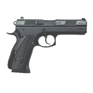 "CZ 97 BD .45 ACP 10+1 4.8"" Pistol in Carbon Steel (Night Sights) - 01416"