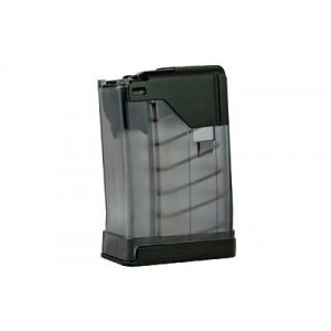 Lancer Magazine, L5 Advanced Warfighter, 223 Rem, Fits Ar Rifles, 10rd, Translucent Smoke 999-000-2320-21