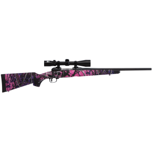 """Savage Arms 11 Trophy Hunter XP Youth Muddy Girl 7mm-08 Remington 4-Round 20"""" Bolt Action Rifle in Blued - 22207"""