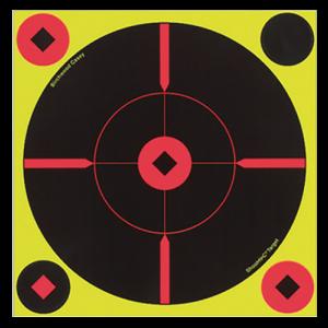 Birchwood Casey 34850 Shoot-N-C Self-Adhesive Targets Round X-Target 50 Pack