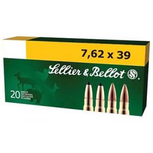 Magtech Ammunition 7.62X39 Soft Point, 123 Grain (20 Rounds) - SB76239B