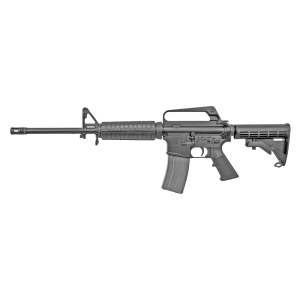 "Olympic Arms Plinker Plus Compact .223 Remington/5.56 NATO 30-Round 16"" Semi-Automatic Rifle in Black - PPC"