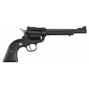 """Ruger Single-Six .22 Long Rifle/.22 Winchester Magnum 6-Shot 6.5"""" Revolver in Blued (Convertible) - 622"""