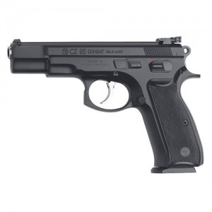 "CZ 85 B 9mm 10+1 4.7"" Pistol in Black - 1210"