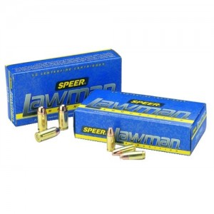 CCI Speer Lawman .45 ACP Total Metal Jacket, 185 Grain (50 Rounds) - 53654