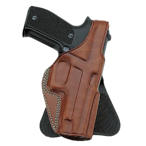 """Galco International P.L.E. Right-Hand Paddle Holster for Glock 26, 27, 33 in Plain Tan (1.75"""") - PLE286"""