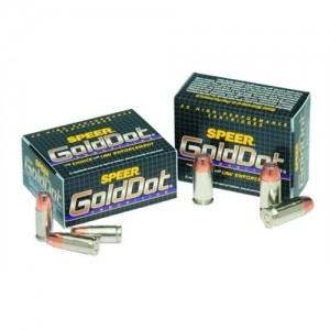 CCI Speer Gold Dot .45 Colt Gold Dot Hollow Point, 250 Grain (20 Rounds) - 23984