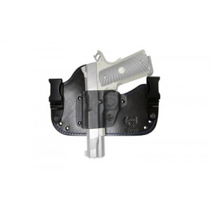 Flashbang Holsters Prohibition Series: Capone Black And Blue Holster, Fits Glock 17/19, Right Hand, Black 9420-g26-11 - 9420-G26-11