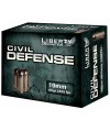 Liberty Ammunition Civil Defense 10mm Hollow Point, 60 Grain (20 Rounds) - LACD10032