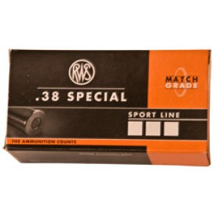 Ruag Ammotec Usa Inc .40 S&W Full Metal Jacket Flat Point, 180 Grain (50 Rounds) - 10040