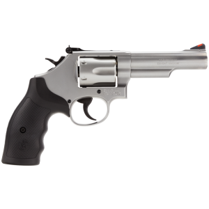 "Smith & Wesson 66 .357 Remington Magnum 6-Shot 4.25"" Revolver in Stainless - 162662"