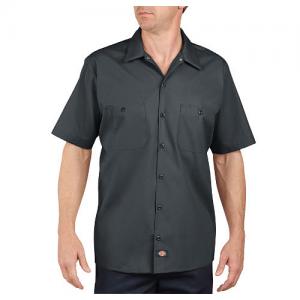 Dickies Work Shirt Men's Uniform Shirt in Charcoal - Large