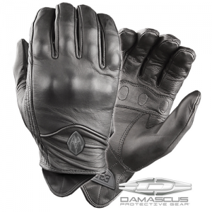 Damascus ATX95 All-Leather Gloves w/ Knuckle Armor, Large