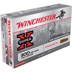 Winchester Super-X .300 Winchester Magnum Power Core, 150 Grain (20 Rounds) - X300WMLF