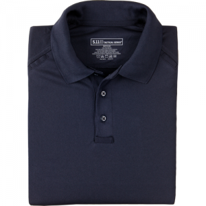 5.11 Tactical Performance Men's Short Sleeve Polo in Dark Navy - 5X-Large