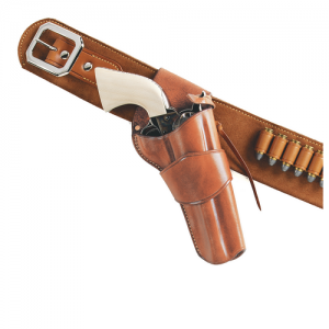 1880'S HOLSTER CROSSDRAW Gun FIt: COLT - .357 SAA 4 3/4  Color: TAN Hand: Right Handed - W-DRC150
