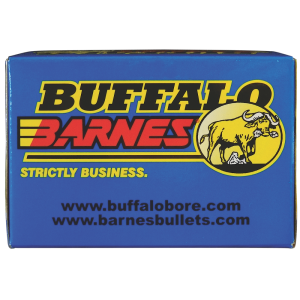 Buffalo Bore Ammunition Buffalo-Barnes Lead Free .375 H&H Magnum Barnes Triple Shock X-Bullet, 235 Grain (20 Rounds) - 54D/20