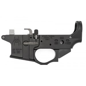 Spike's Tactical Stls910 9mm Colt Style Lower W/spider Logo, Semi-automatic, Black Finish, Bolt Locks Back After Last Round Stls910