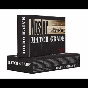 Nosler Bullets Match Grade .338 Lapua Magnum Hollow Point, 300 Grain (20 Rounds) - 43136