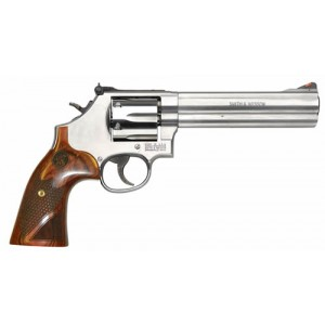 """Smith & Wesson 629 Deluxe .44 Special/.44 Remington Magnum 6+1 6.5"""" Pistol in Stainless - 150714"""