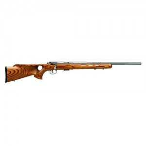 """Savage Arms 93 Magnum BTVS .22 Winchester Magnum 5-Round 20.75"""" Bolt Action Rifle in Stainless Steel - 94725"""
