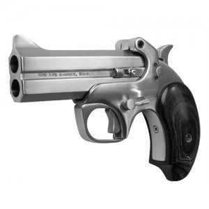 "Bond Arms Snakeslayer .410/.45 Long Colt 2-Shot 3.5"" Derringer in Satin Stainless (Original) - BASS"