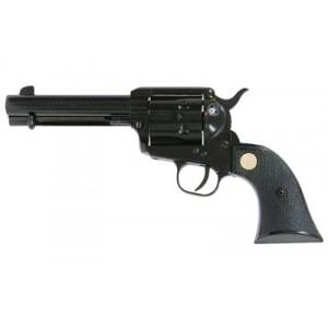 "Cimarron Plinkerton .22 Long Rifle 6-Shot 4.75"" Revolver in Blued - ASPLINK-1"