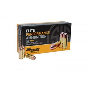 Sig Sauer Elite Performance .380 ACP Full Metal Jacket, 100 Grain (50 Rounds) - E380B1