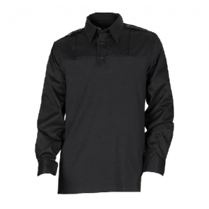 5.11 Tactical PDU Rapid Men's Long Sleeve Uniform Shirt in Black - X-Large